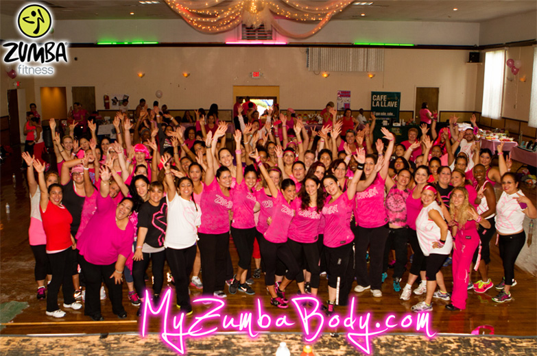MyZumbaBody class group picture
